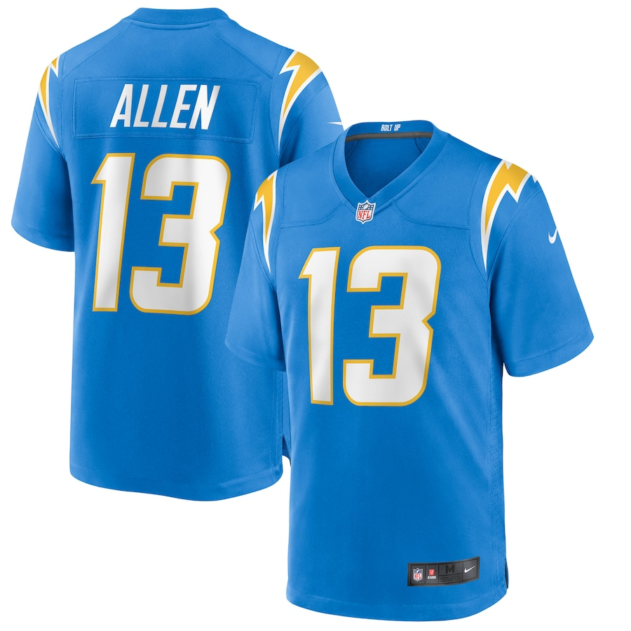 Keenan Allen #13 Los Angeles Chargers Nike Game Jersey - Powder Blue