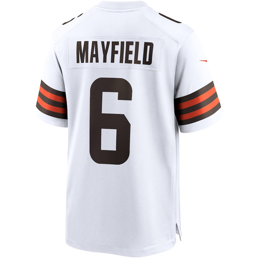 Baker Mayfield #6 Cleveland Browns Nike Player Game Jersey - White