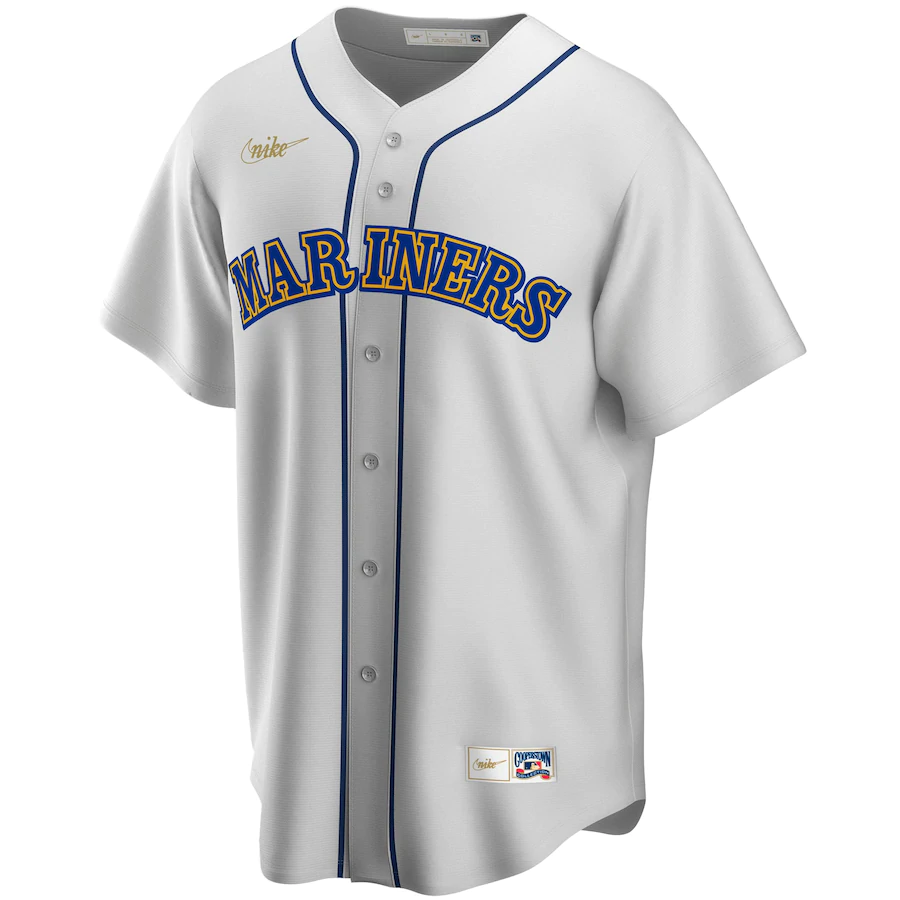 Ken Griffey #24 Jr. Seattle Mariners Nike Home Cooperstown Collection Player Jersey - White