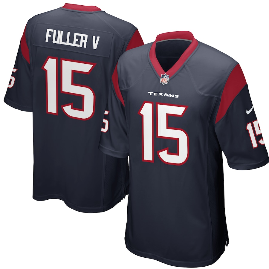 Will Fuller V #15 Houston Jersey  Texans Nike Game Player Navy Jersey