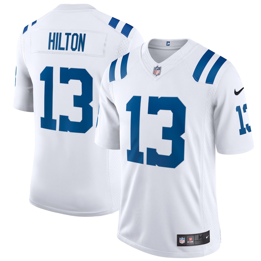 T.Y. Hilton #13 Indianapolis Colts Nike Vapor Limited Jersey - White
