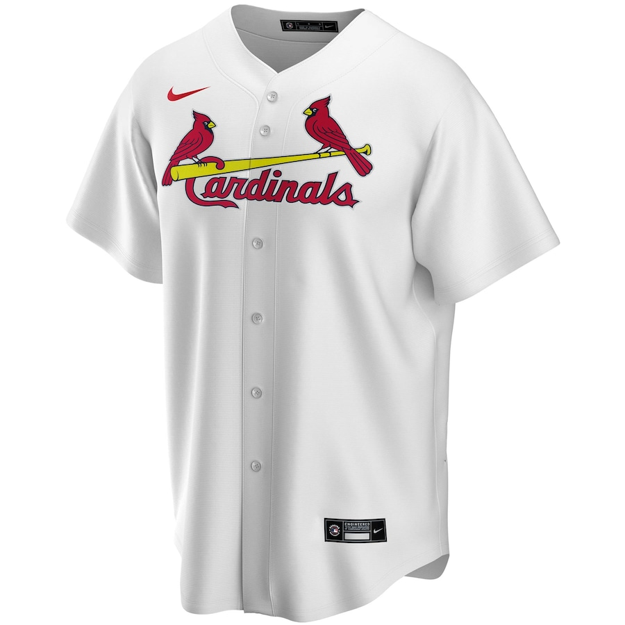 Yadier Molina #4 St. Louis Cardinals Nike Home 2020 Replica Player Jersey - White