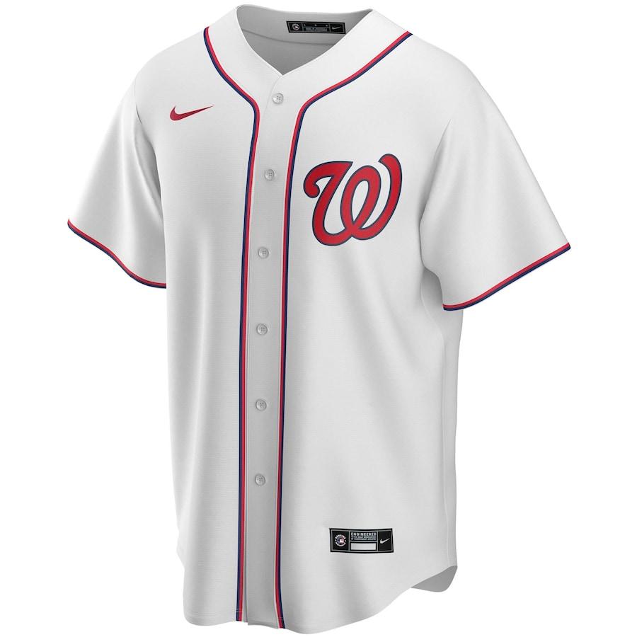 Juan Soto #22 Washington Nationals Nike Home 2020 Replica Player Jersey - White