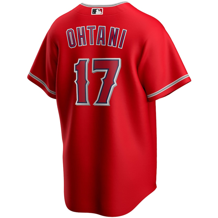 Shohei Ohtani #17 Los Angeles Angels Nike Alternate 2020 Replica Player Jersey - Red