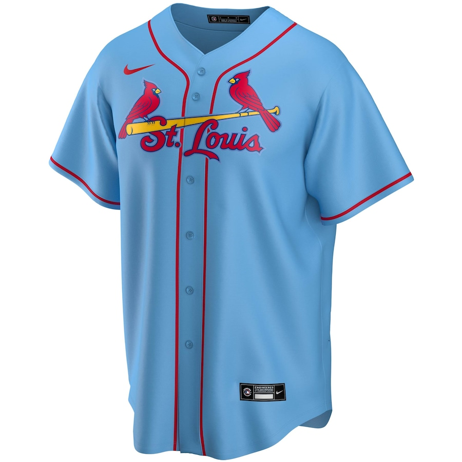Paul Goldschmidt #46 St. Louis Cardinals Nike Alternate 2020 Replica Player Jersey - Light Blue