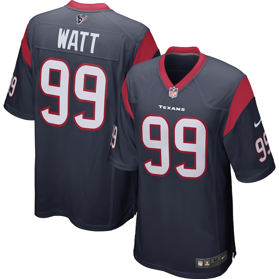 J.J. Watt #99 Houston Texans Nike Player Game Jersey - Navy