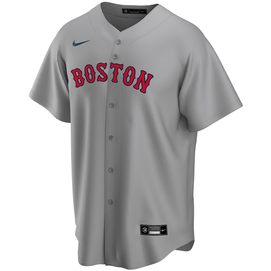 Andrew Benintendi #16 Boston Red Sox Nike Road 2020 Replica Player Jersey - Gray