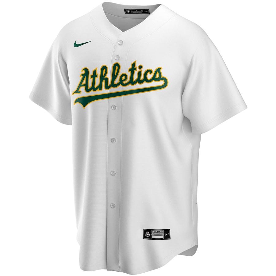 MLB Chapman #26 Oakland Athletics Home Baseball Jersey 2020