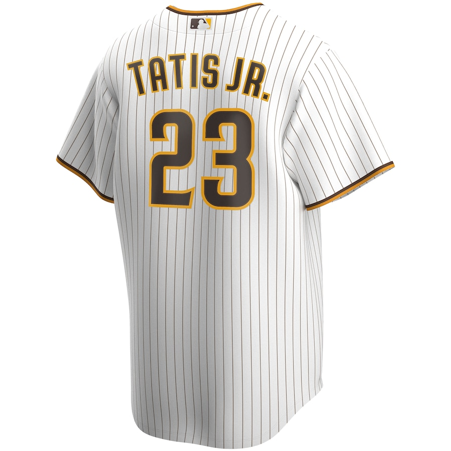 Fernando Tatís Jr. #23 San Diego Padres Nike Home 2020 Replica Player Jersey - White/Brown
