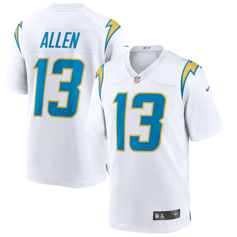 Keenan Allen #13 Los Angeles Chargers Nike Game Jersey - White