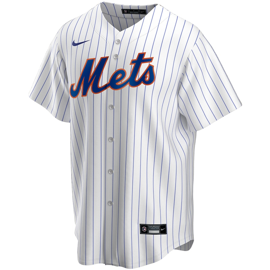 Jeff McNeil #6 New York Mets Nike Home 2020 Replica Player Jersey - White/Royal