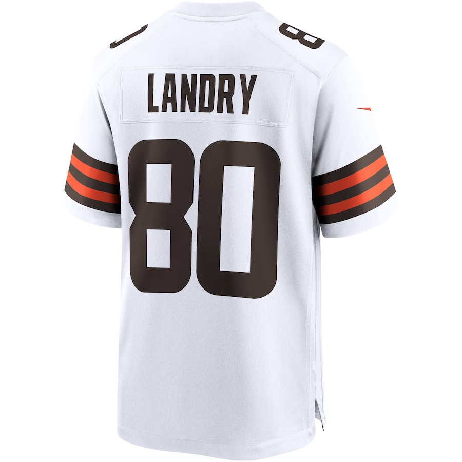 Jarvis Landry #80 Cleveland Browns Nike Game Jersey - White