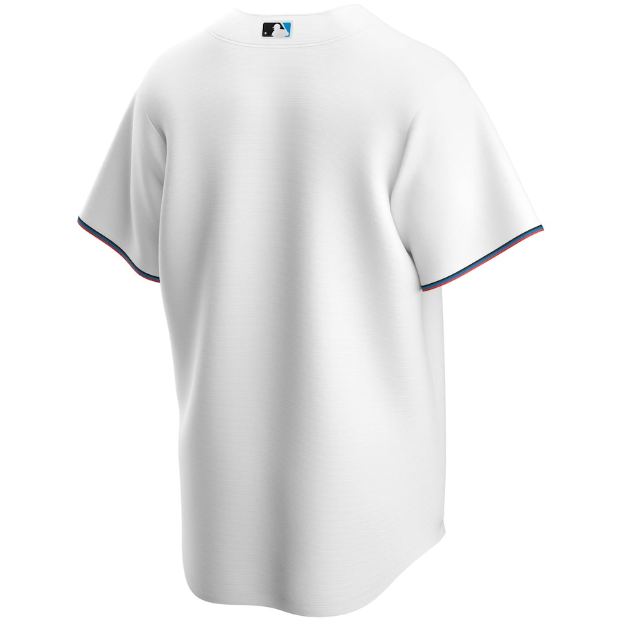 Miami Marlins Nike Home 2020 Replica Team Jersey - White
