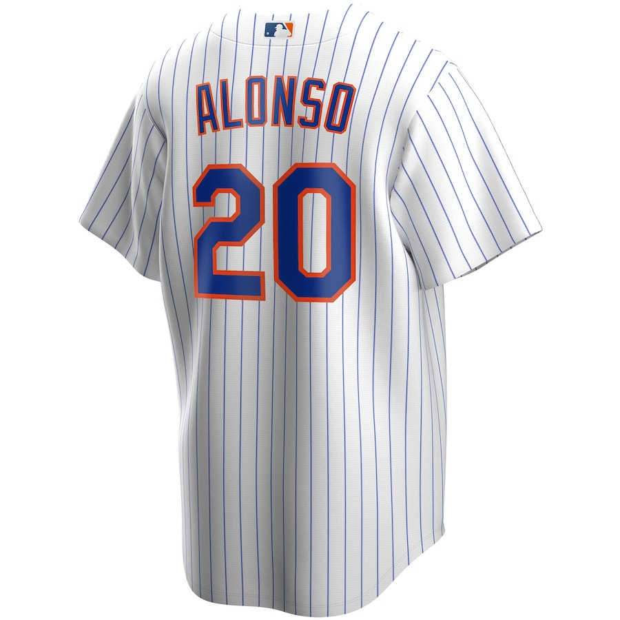 Pete Alonso #20 New York Mets Nike Home 2020 Replica Player Jersey - White
