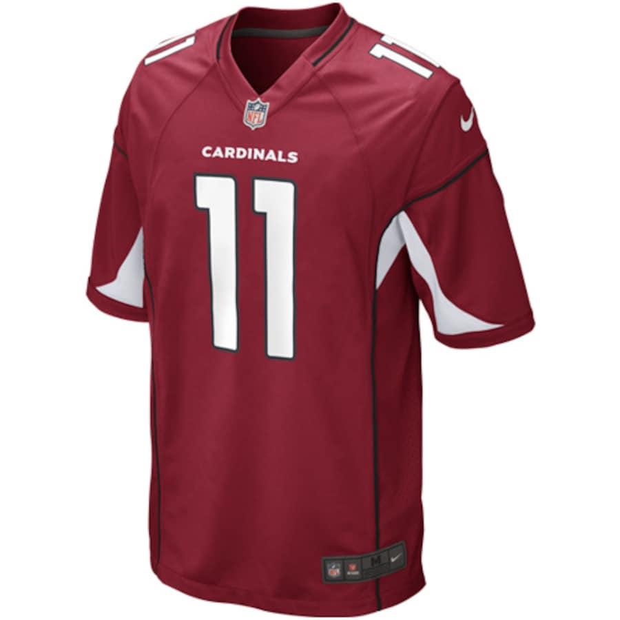 Larry Fitzgerald #11 Arizona Cardinals Nike Game Player Jersey - Cardinal