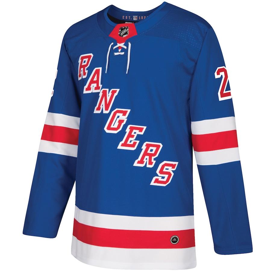 Kevin Shattenkirk #22 New York Rangers NHL Premier Breakaway Player Jersey - Blue