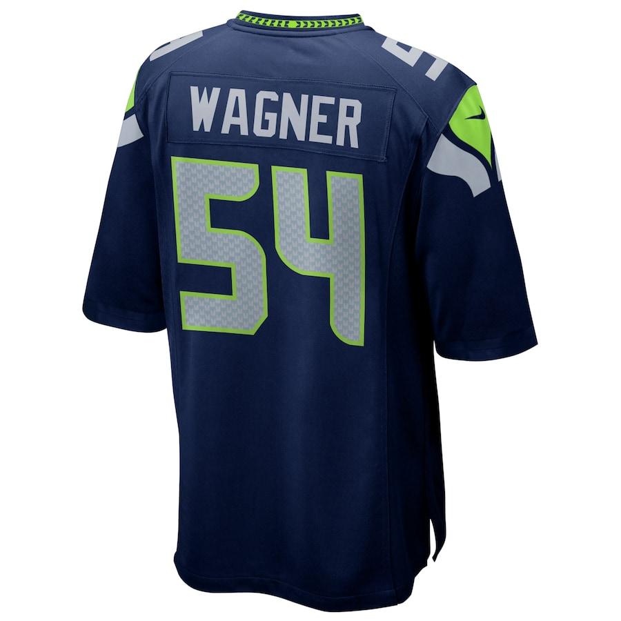 Bobby Wagner #54 Seattle Seahawks Nike Game Player Jersey - Navy