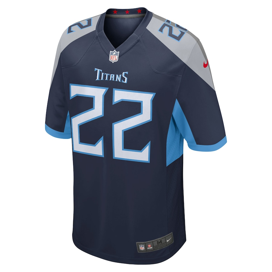 Derrick Henry #22 Tennessee Titans Nike Player Game Jersey - Navy