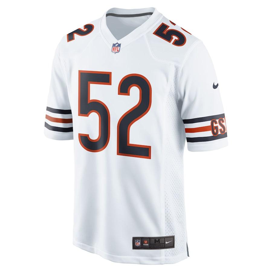 Khalil Mack #52 Chicago Bears Nike Game Jersey - White