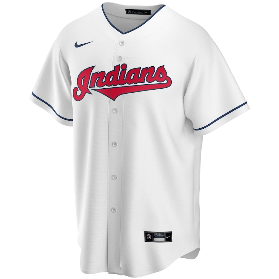 Francisco Lindor #12 Cleveland Indians Nike Home 2020 Replica Player Jersey - White