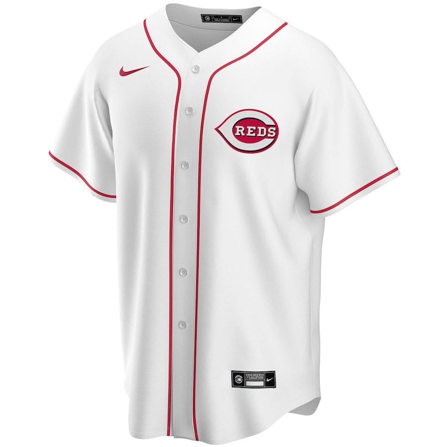 MLB Votto #19 Cincinnati Reds Home Baseball Jersey 2020