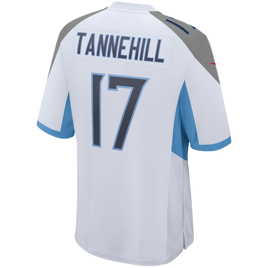 Ryan Tannehill #17 Tennessee Titans Nike Game Jersey – White