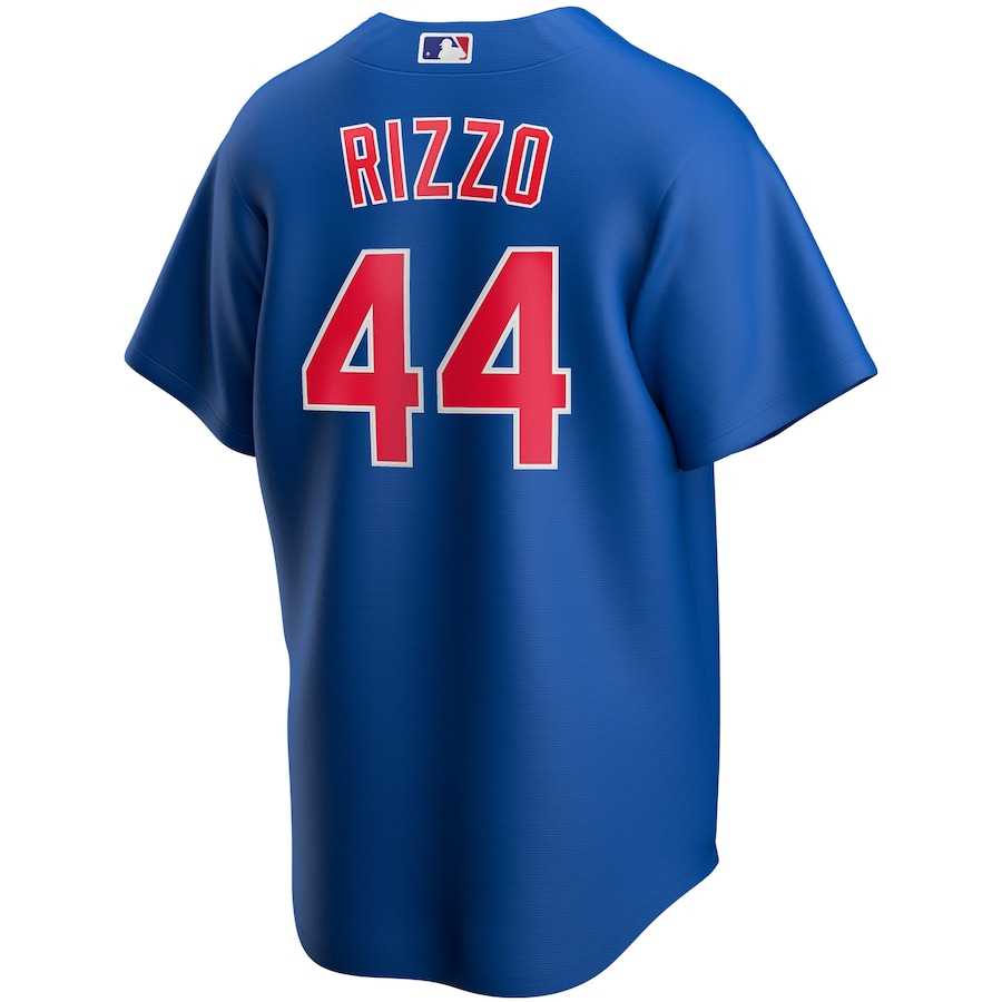 Anthony Rizzo #44 Chicago Cubs Nike Alternate 2020 Replica Player Jersey - Royal