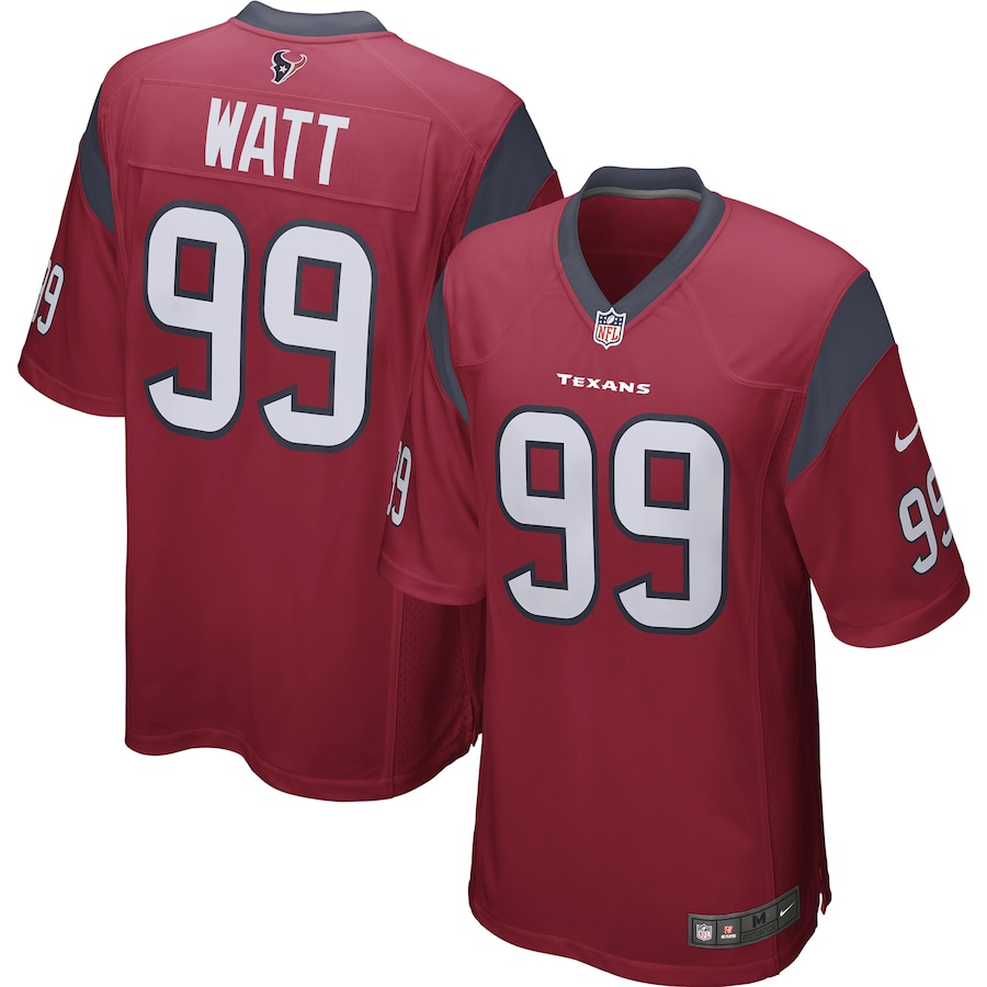 J.J. Watt #99 Houston Texans Nike Player Game Jersey - Red