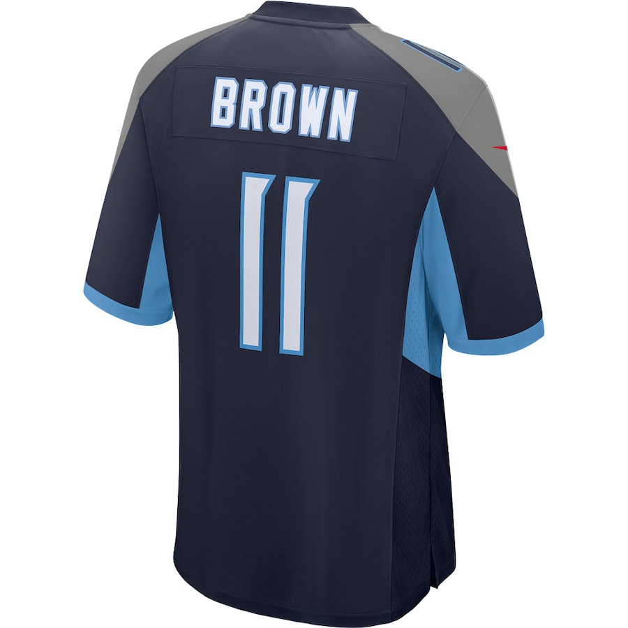 AJ Brown #11 Tennessee Titans Nike Game Player Jersey - Navy