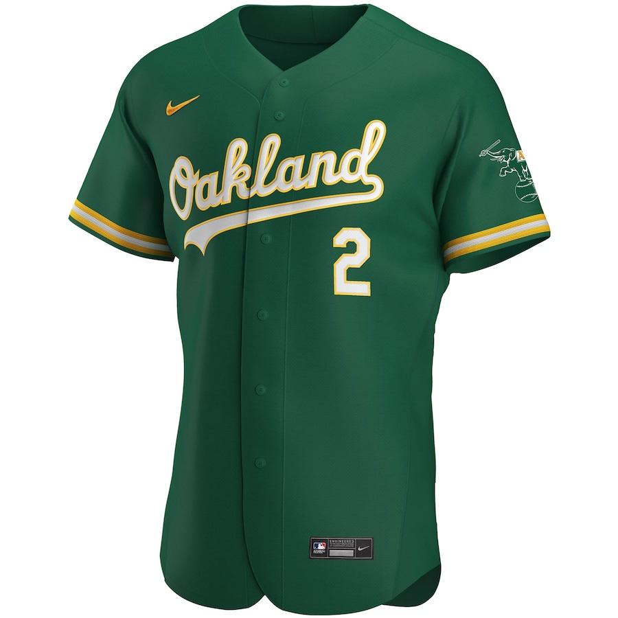 MLB Davis #2 Oakland Athletics Baseball Jersey 2020
