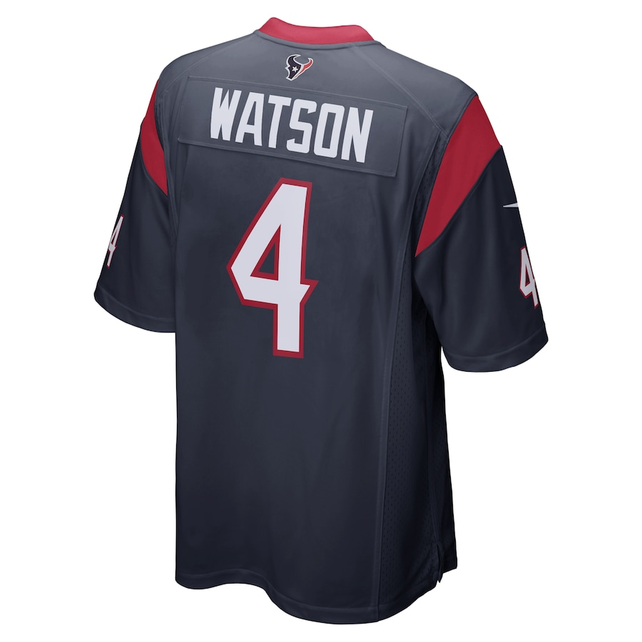 Deshaun Watson #4 Houston Texans Nike Player Game Jersey - Navy