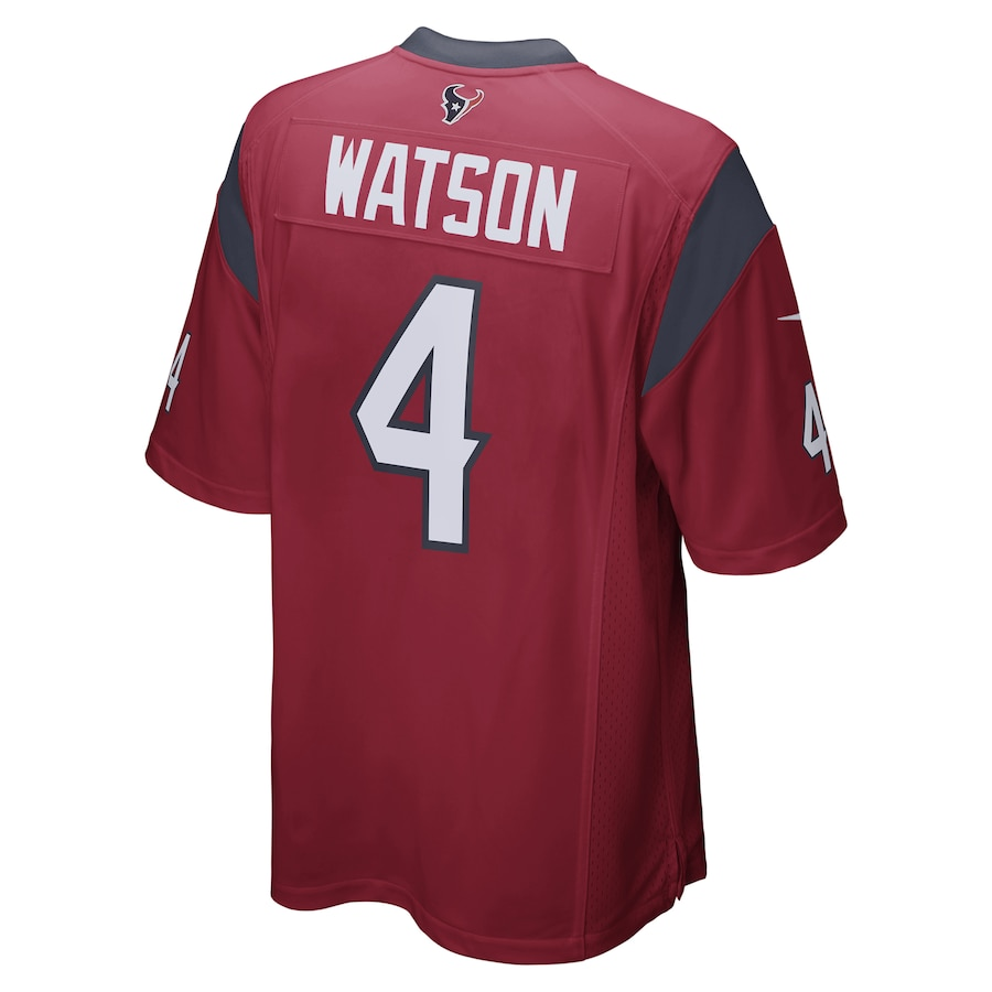 Deshaun Watson #4 Houston Texans Nike Player Game Jersey - Red