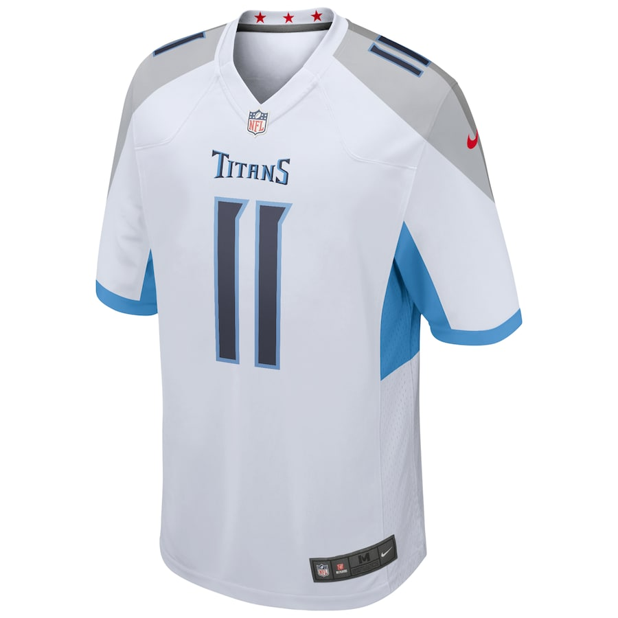 AJ Brown #11 Tennessee Titans Nike Game Jersey – White