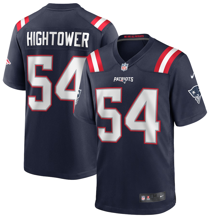 Dont a Hightower #54 New England Patriots Nike Game Jersey - Navy