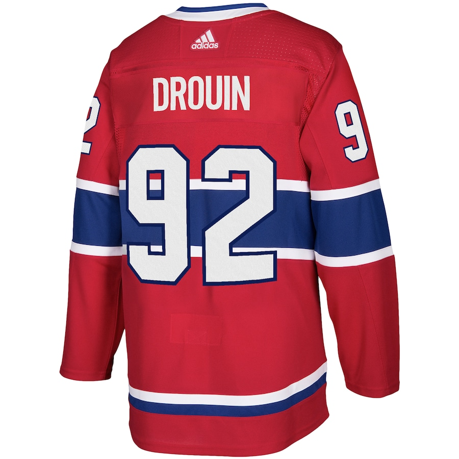 Jonathan Drouin #92 Montreal Canadiens adidas Authentic Player Jersey - Red