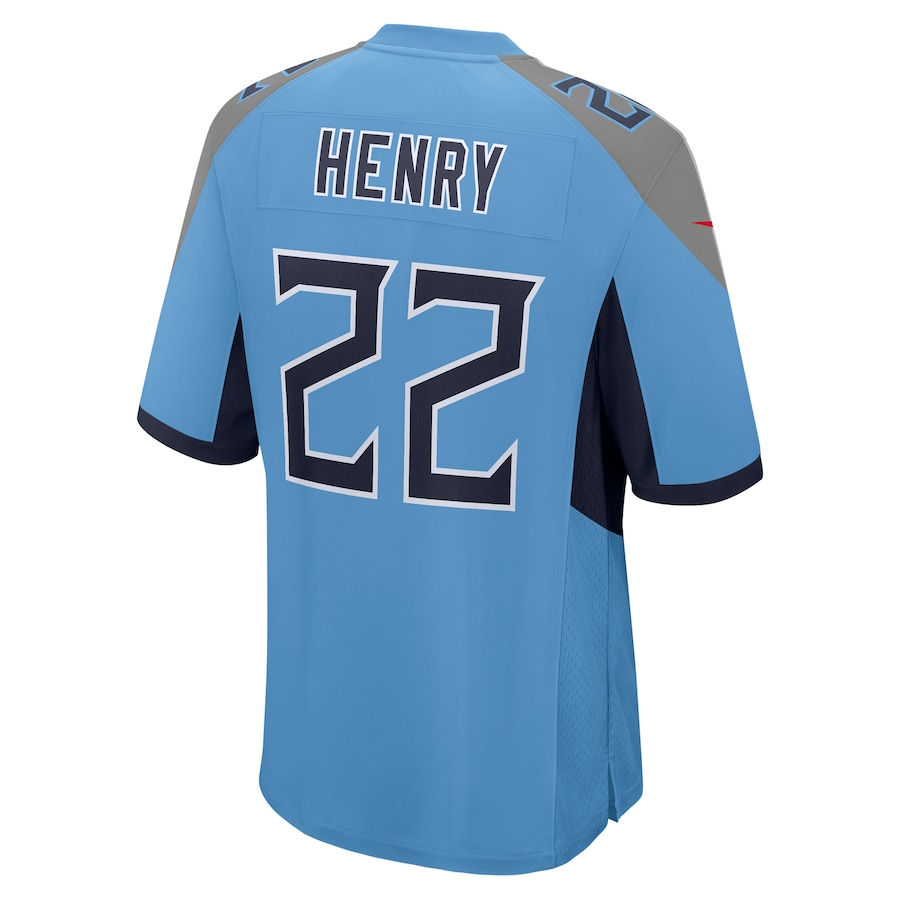 Derrick Henry #22 Tennessee Titans Nike Player Game Jersey - Light Blue