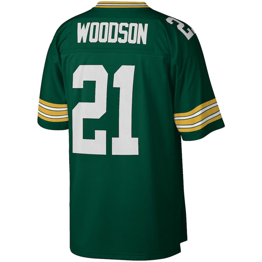 Charles Woodson #21 Green Bay Packers Mitchell & Ness 2010 Legacy Replica Jersey - Green