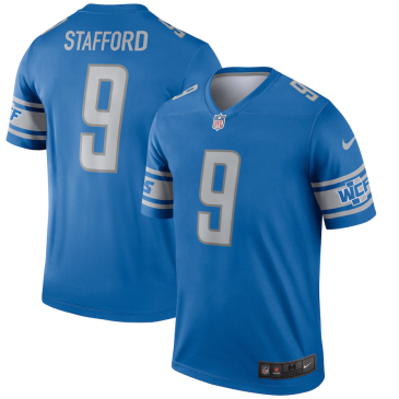 NFL Stafford #9 Detroit Lions Game Jersey