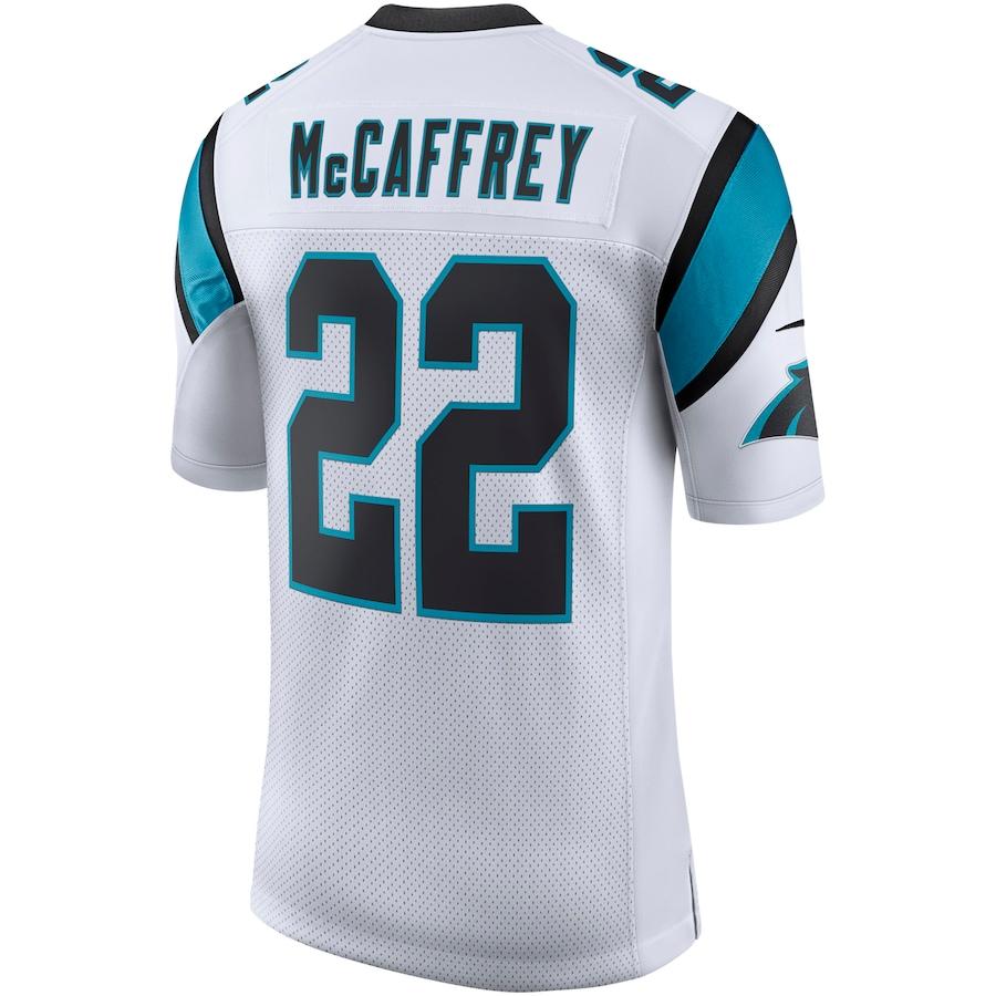 Christian McCaffrey #22 Carolina Panthers Nike Classic Limited Player Jersey - White