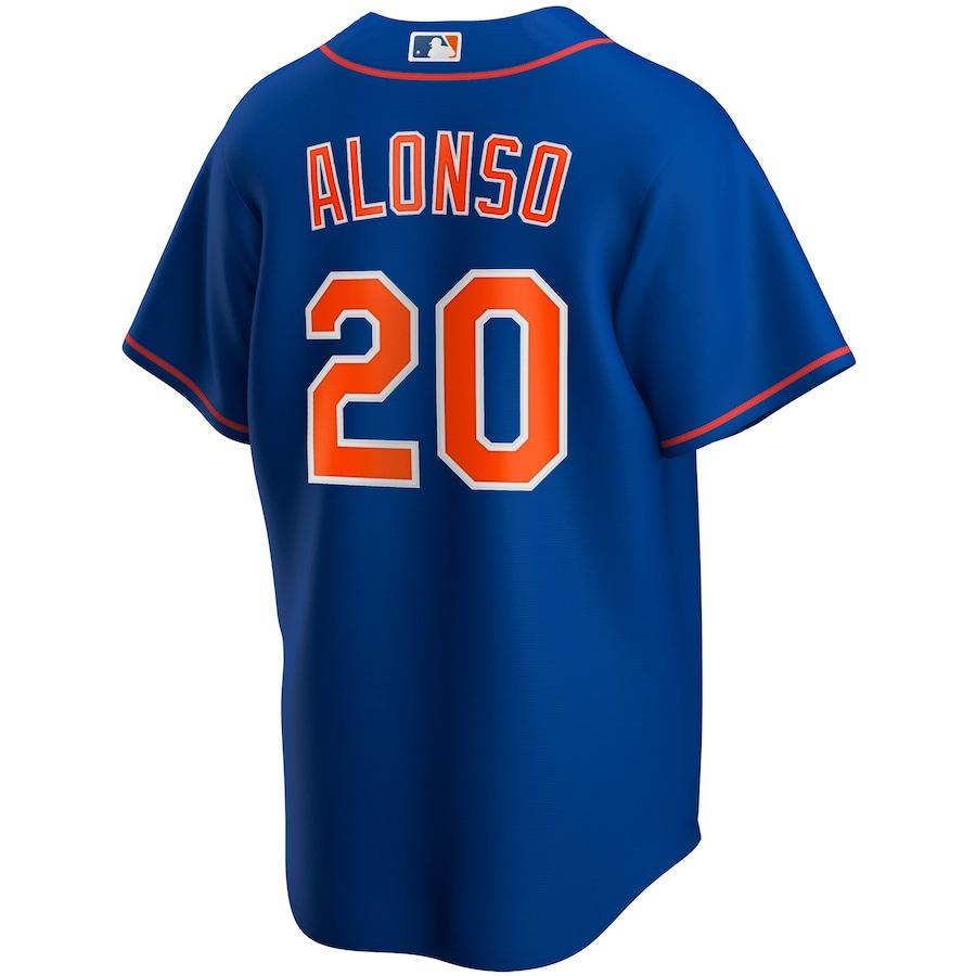 Pete Alonso #20 New York Mets Nike Alternate 2020 Replica Player Jersey - Royal