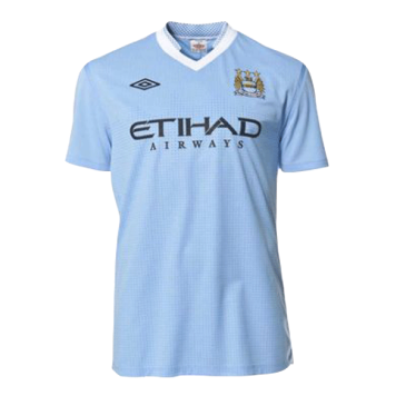 Retro Manchester City Home Jersey 2011/12 By Umbro