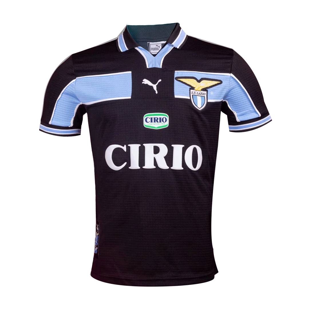 Retro Lazio Away Jersey 1998/100 By Puma