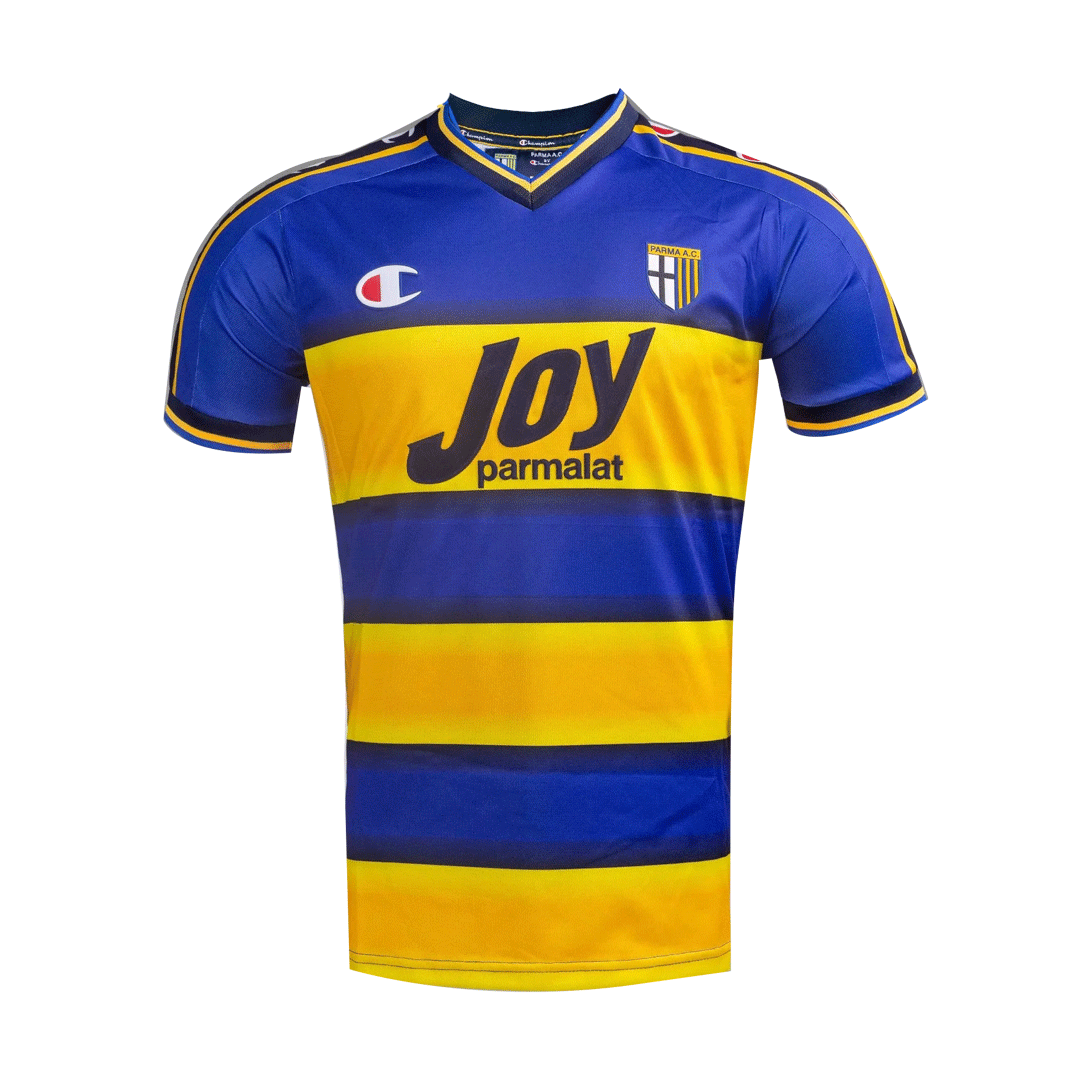 Retro Parma Calcio 1913 Home Jersey 2001/02 By Champion