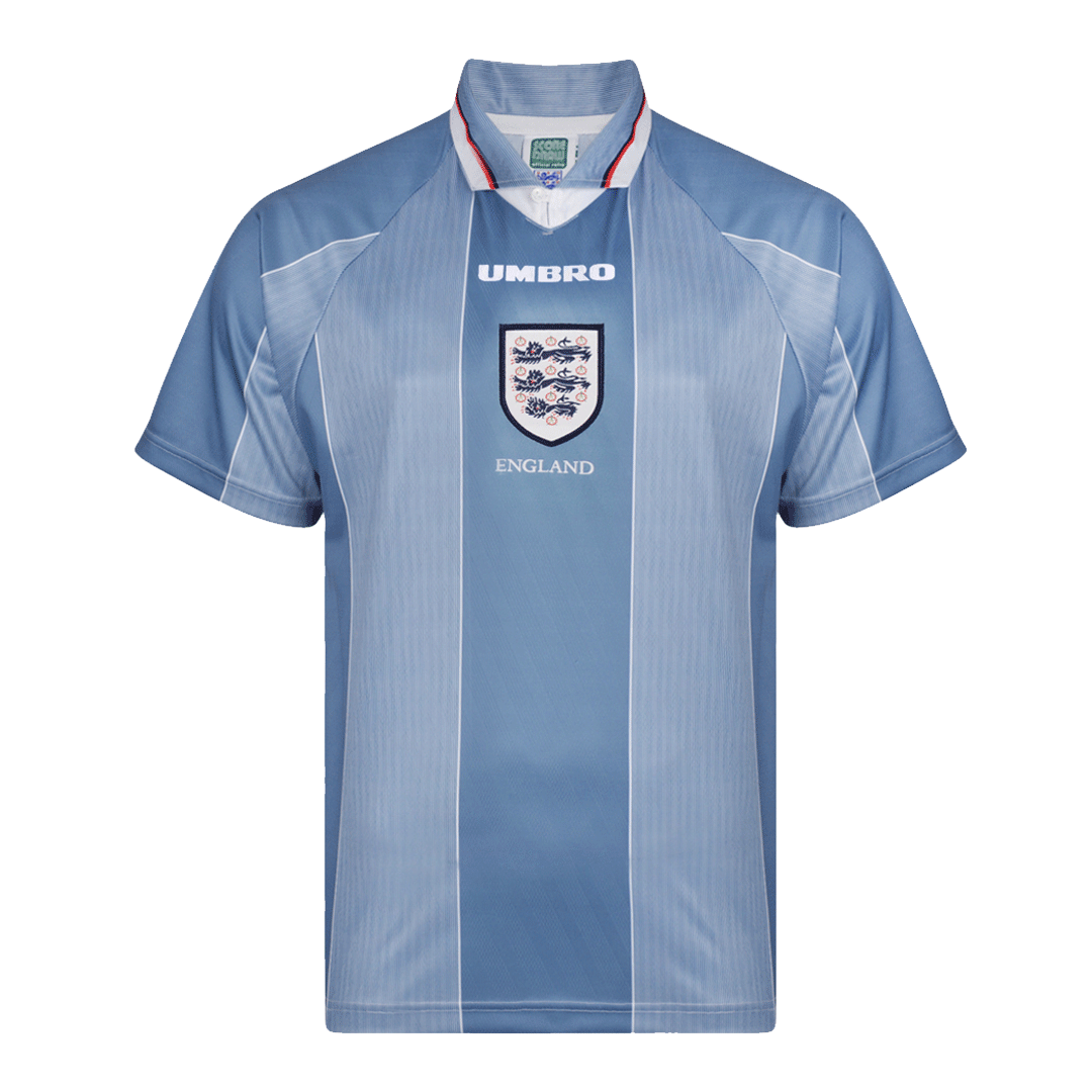 Retro England Away Jersey 1996 By Umbro