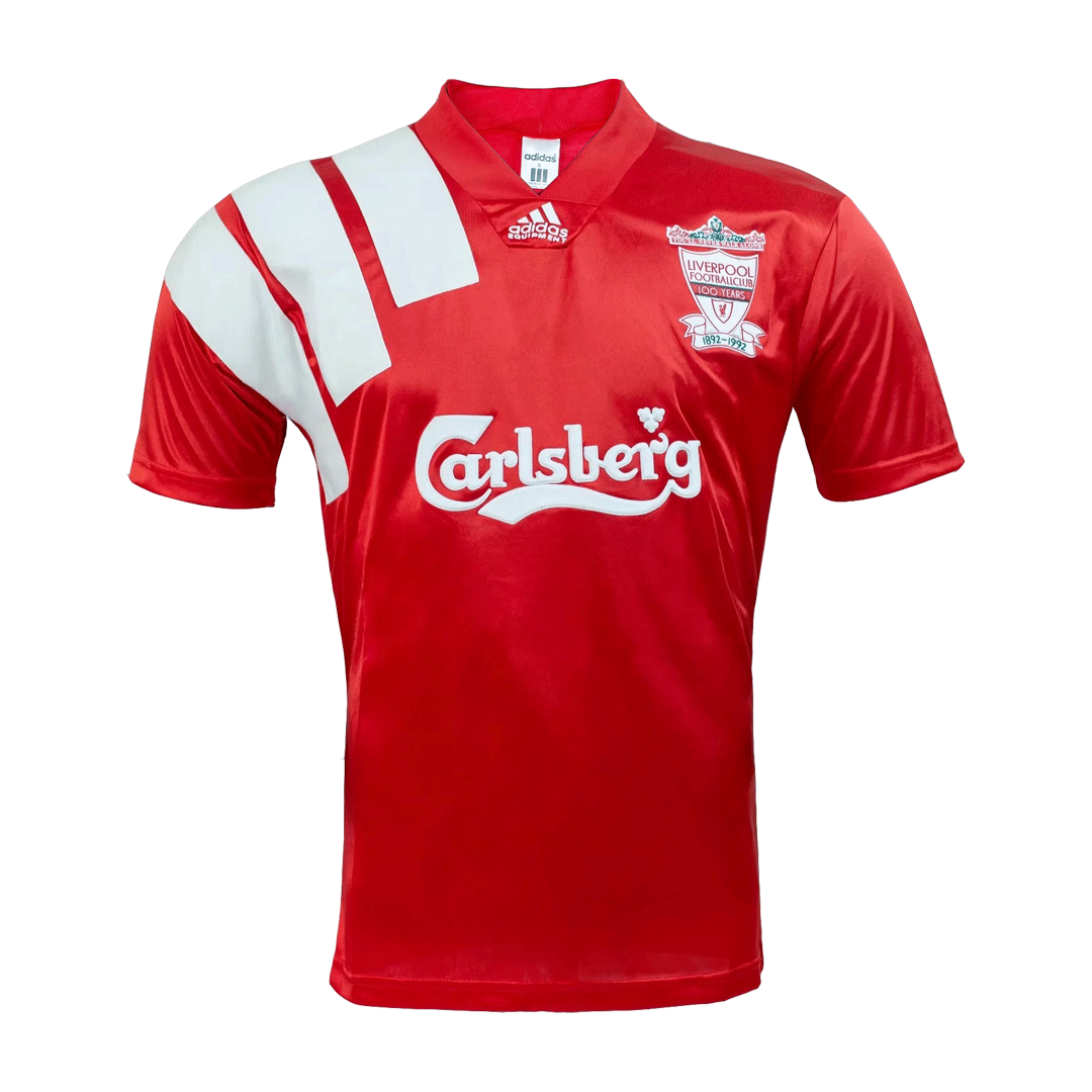 Retro Liverpool Home Jersey 1992/93 By Nike