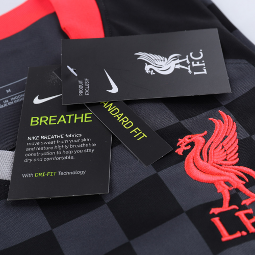 Virgil Van Dijk #4 Liverpool Third Away Jersey 2020/21 By Nike