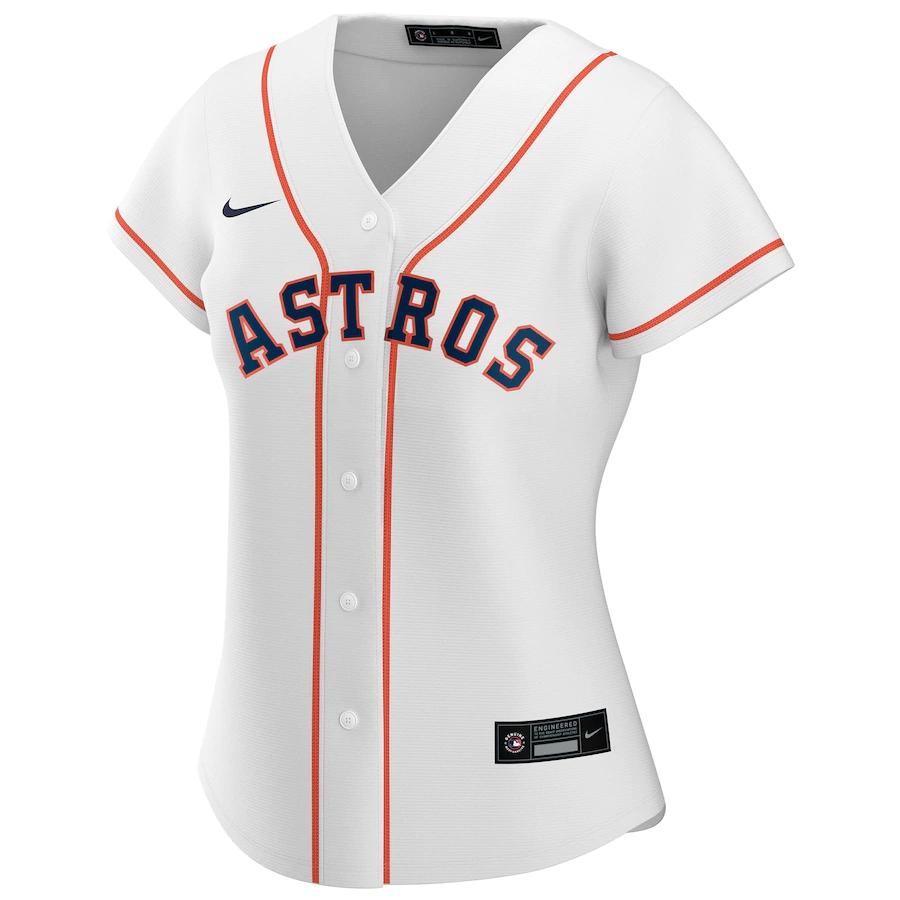 MLB Houston Astros Home Baseball Jersey 2020 Women
