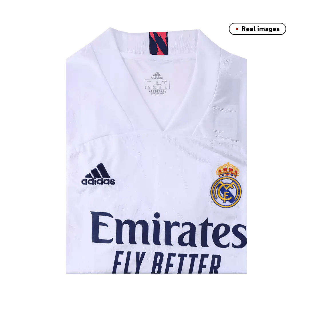 Replica Real Madrid Home Jersey 2020/21 By Adidas