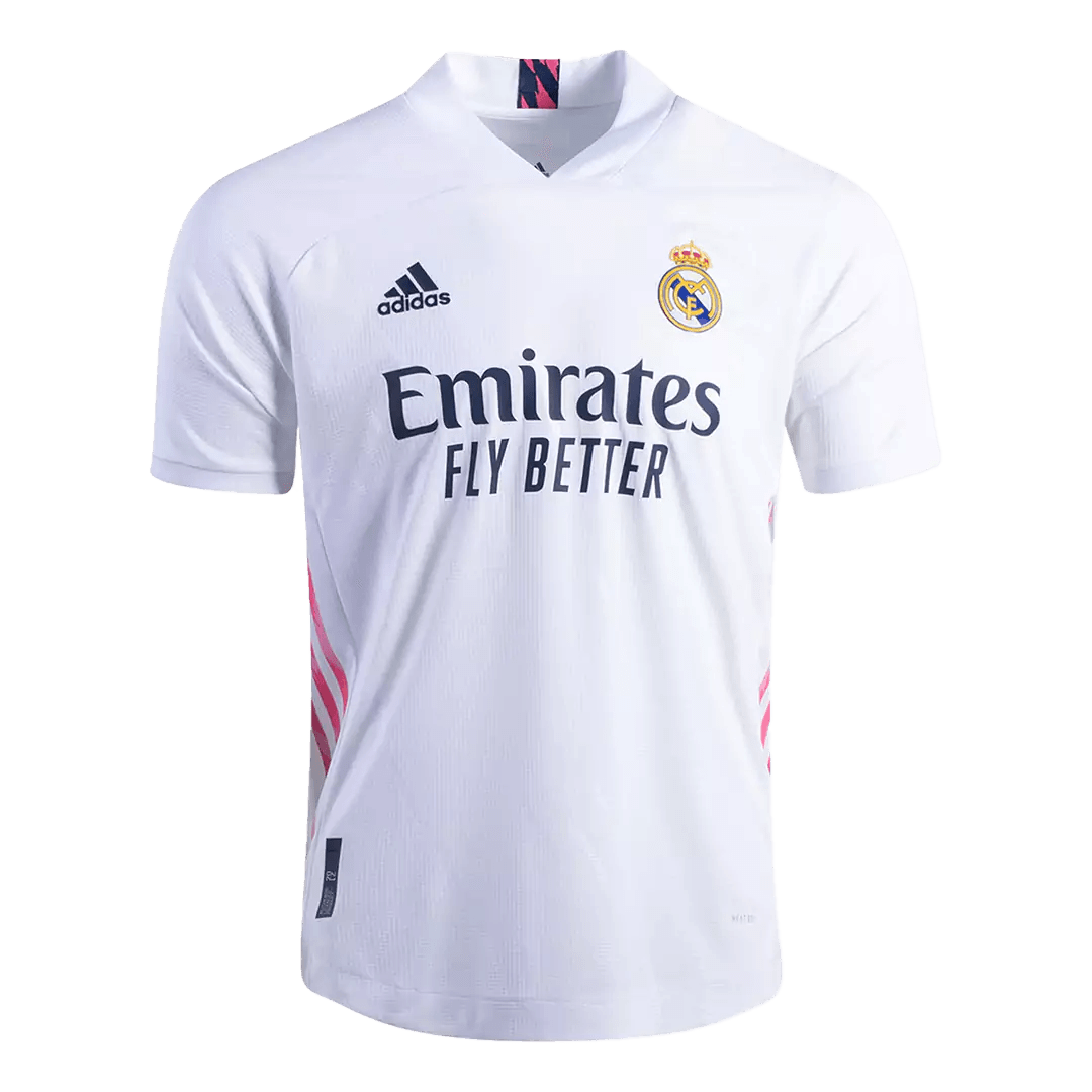 20/21 Real Madrid Home Jersey White Soccer Jerseys Shirt