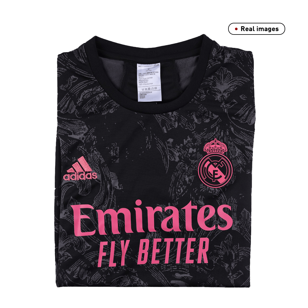 Replica Real Madrid Third Away Jersey 2020/21 By Adidas